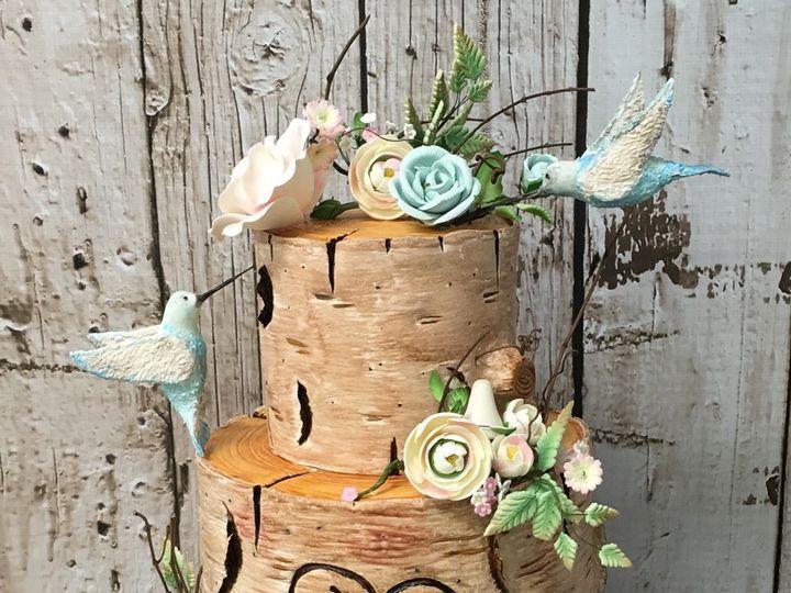 Tmx Fondant Tree Wedding Cake 51 445973 Sewell, New Jersey wedding cake