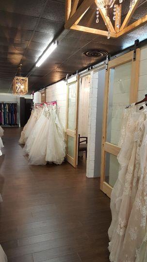 Array of dresses