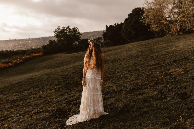 Kona, Hawaii Bride