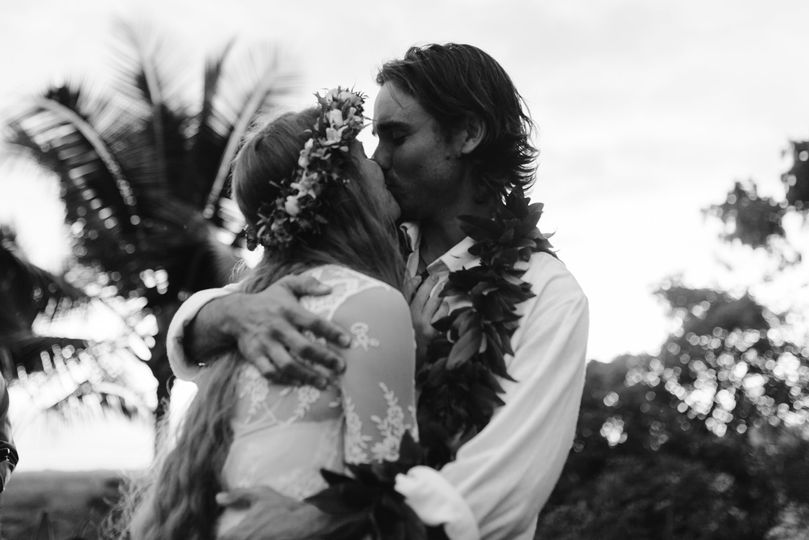 In love in Hawaii