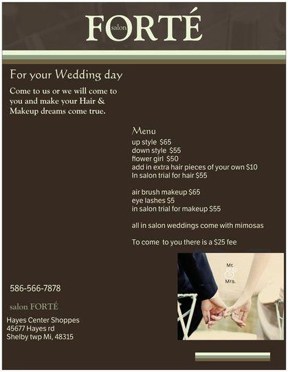 7c1110d8dda917e8 wedding flyer