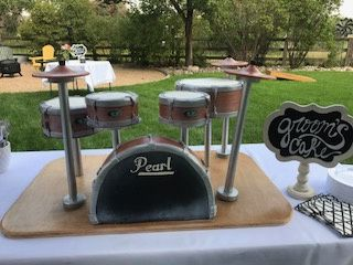 Tmx Drumkitgroom 51 656973 Lafayette, CO wedding cake