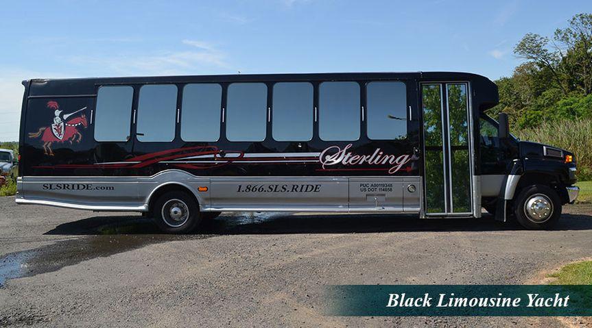Black Limousine Yacht
