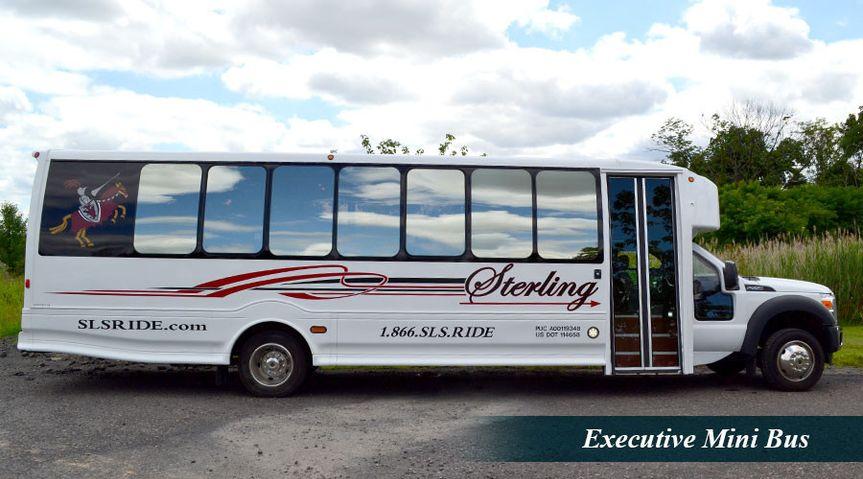 Executive mini bus