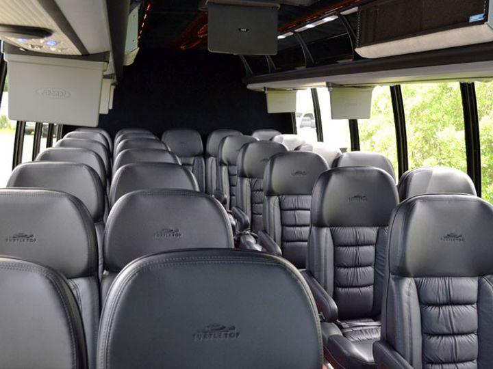 Tmx 1455819150034 Minibusesexecutiveinterior1 Newtown, PA wedding transportation