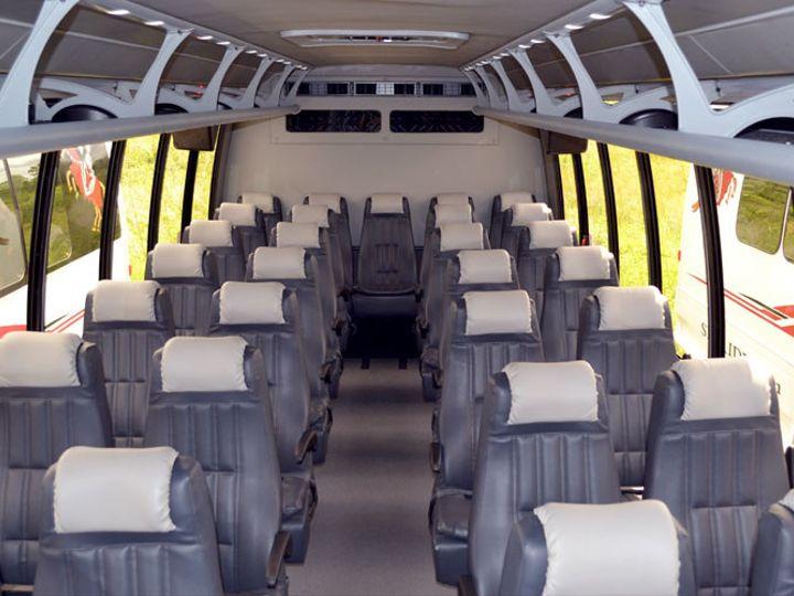 Tmx 1455819160093 Minibuseswhiteinterior1 Newtown, PA wedding transportation