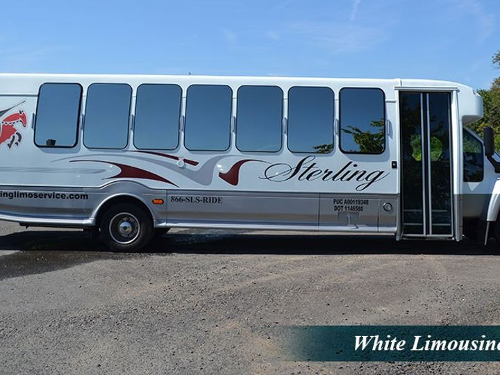 Tmx 26 Pax Limo Bus Exterior 51 86973 157972189314434 Newtown, PA wedding transportation