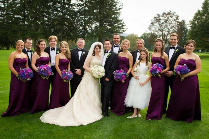 The prock wedding party