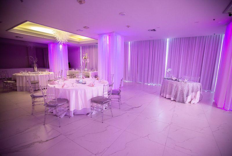 Ballroom with Lighting ( inc)