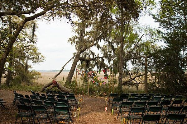 Ceremony on the marsh