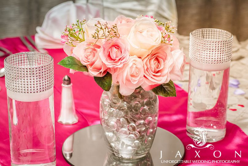 Brides centerpiece