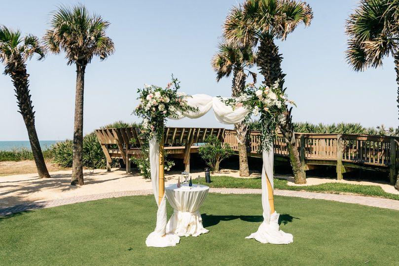 Oceanside ceremony site