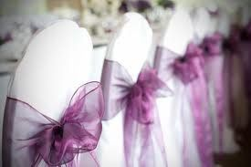 Organza Sashes Rental price $0.25 each