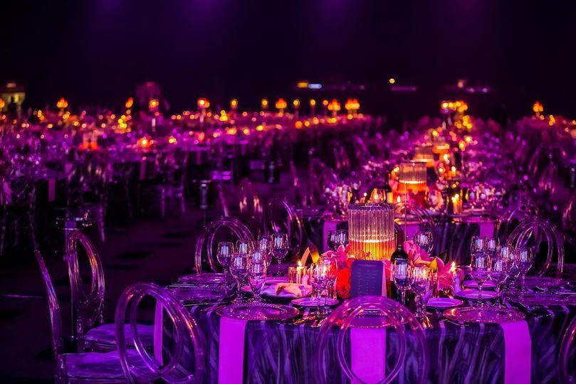 Purple amber