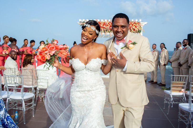 Pe wedding couple