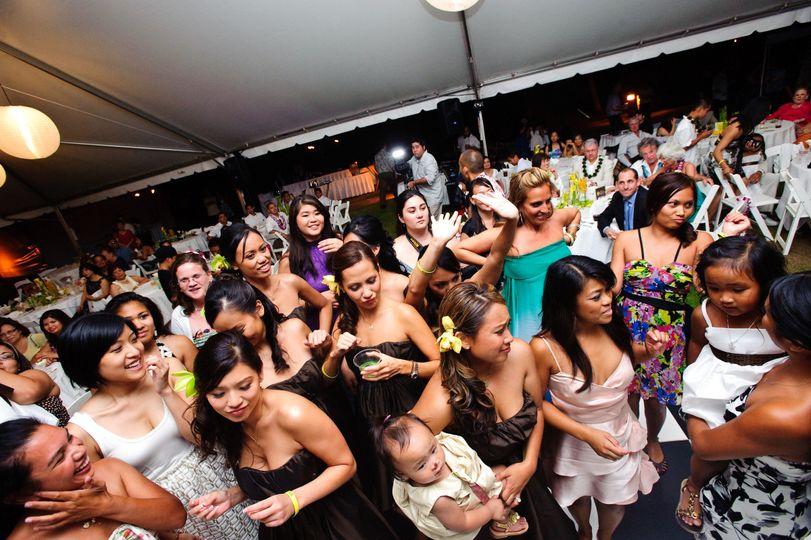 People on the dance floor