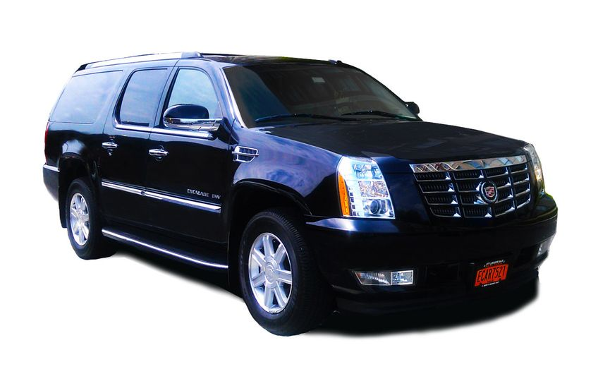 The Cadillac Escalade is our SUV car service and can accommodate up to 7 passengers in its luxurious...