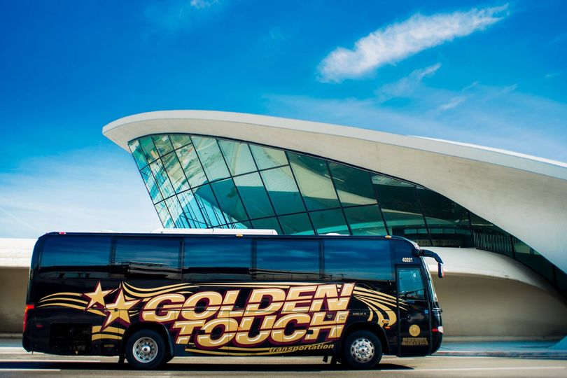 Designed exclusively for Golden Touch, our luxurious coach buses seat 36, 38, 40, 49, or 55...