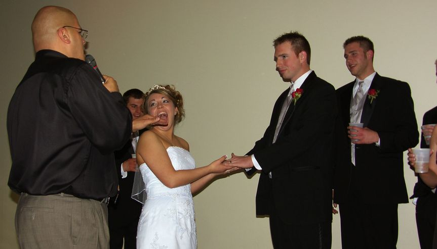Always make the bride happy!!!!!