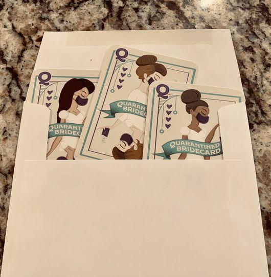 In envelope