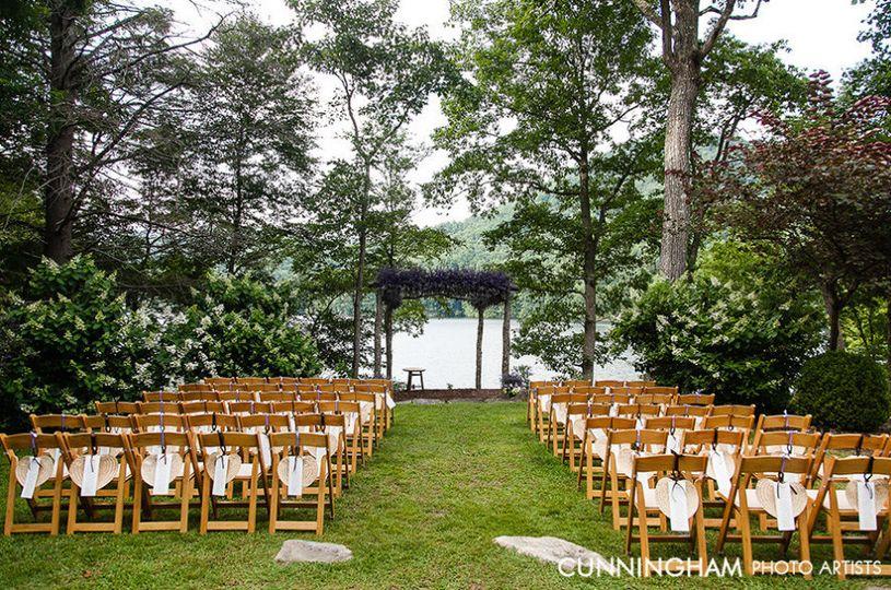 Wedding cermony setup