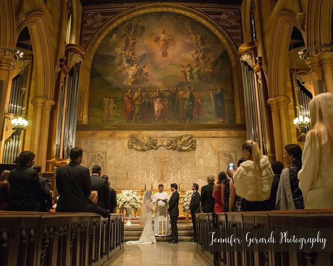 B&G Formal Church Wedding