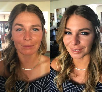 Before & after look