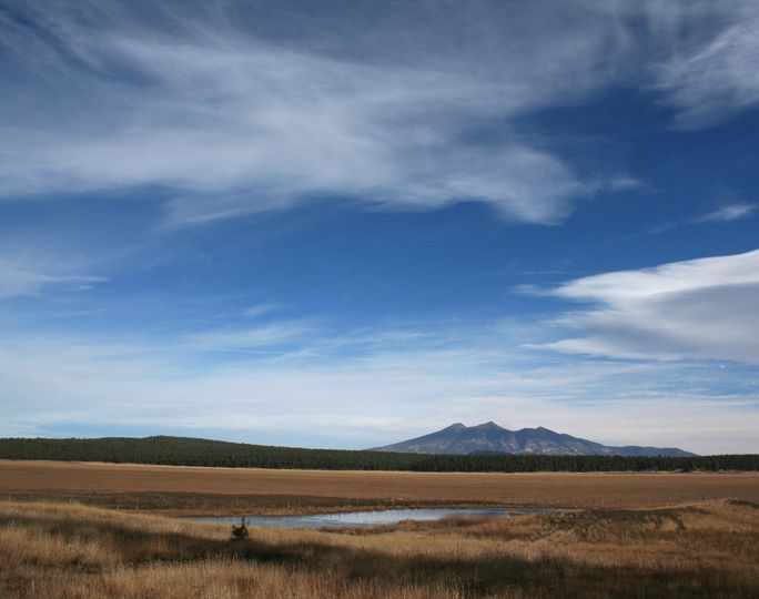 View of San Francisco Peaks