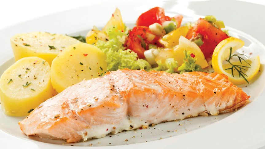 Fish dinner expertly seasoned