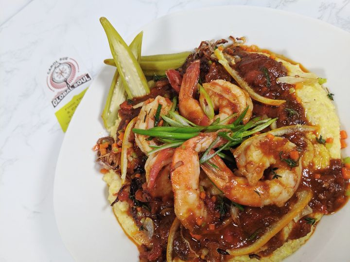 Low-country shrimp and grits