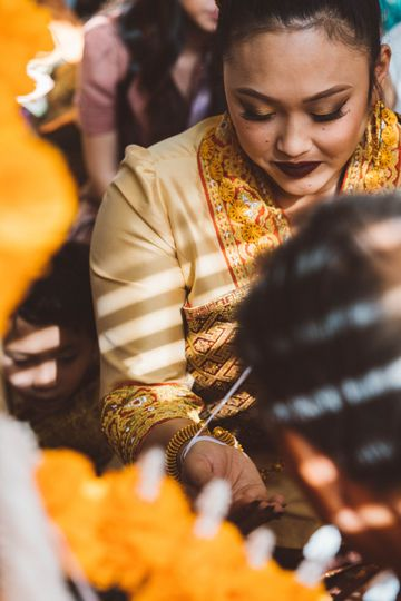 Laos wedding
