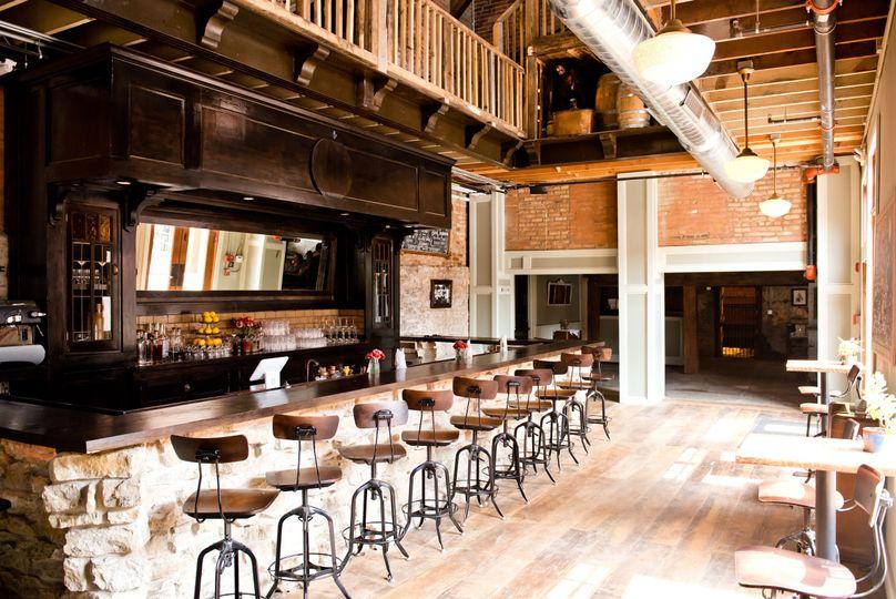 The historic grain tower bar