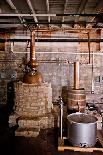Distillery floor