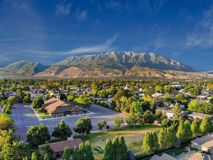 Utah Valley Drone Shot
