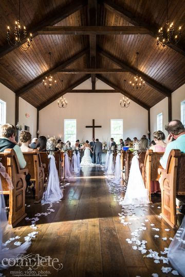 The perfect size wedding!