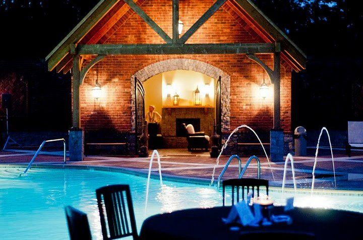 Poolside receptions