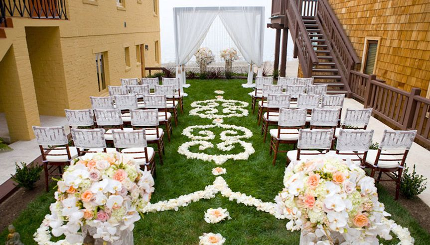 Wedding ceremony venue design