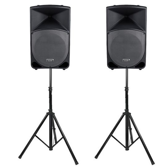 mackie thump th 15a pair with free stands large