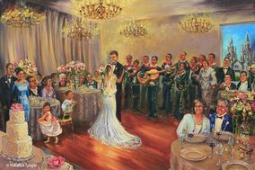 Talia Koval Live Painting