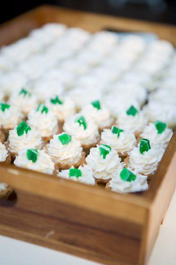 Cupcake servings