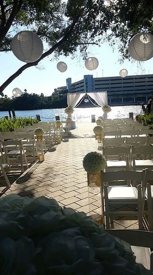 Wedding ceremony stage​
