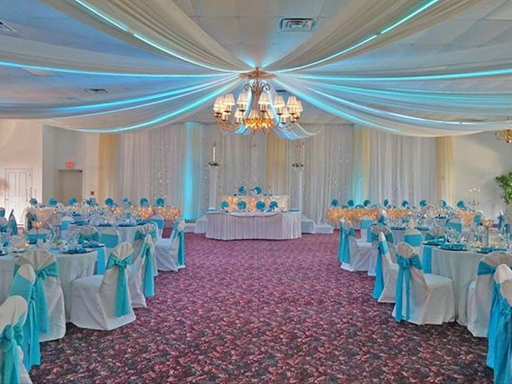 Tmx 1437476632267 Ballroom Decor Option Glen Burnie wedding venue