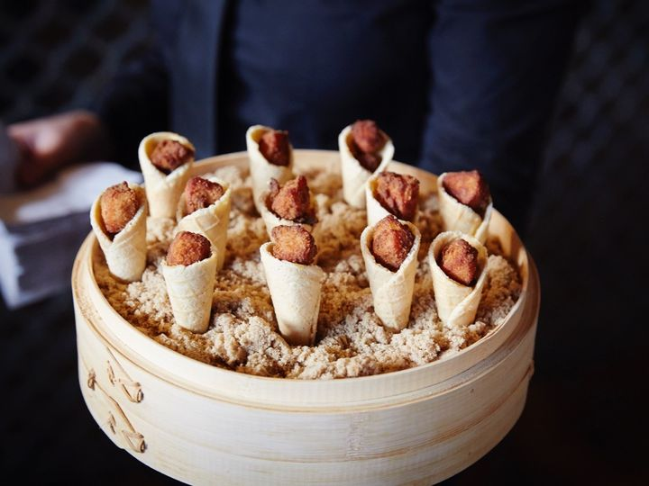 Tmx 1511917643493 Fried Chicken Waffle Conedish Website 2017 Brooklyn, New York wedding catering