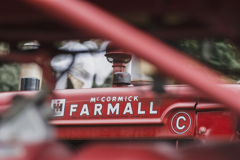Farmall wedding