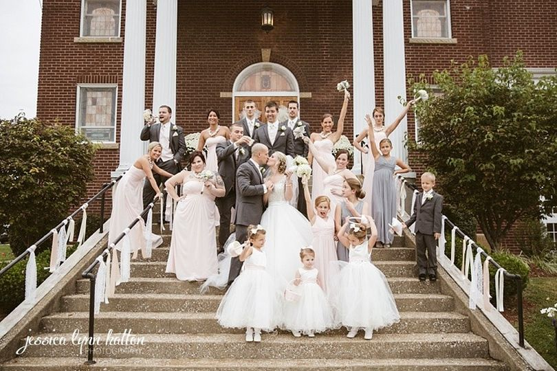 kentucky wedding fairytale pink