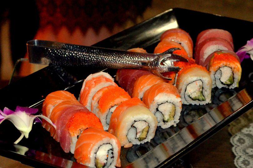 Sushi California Roll Platter