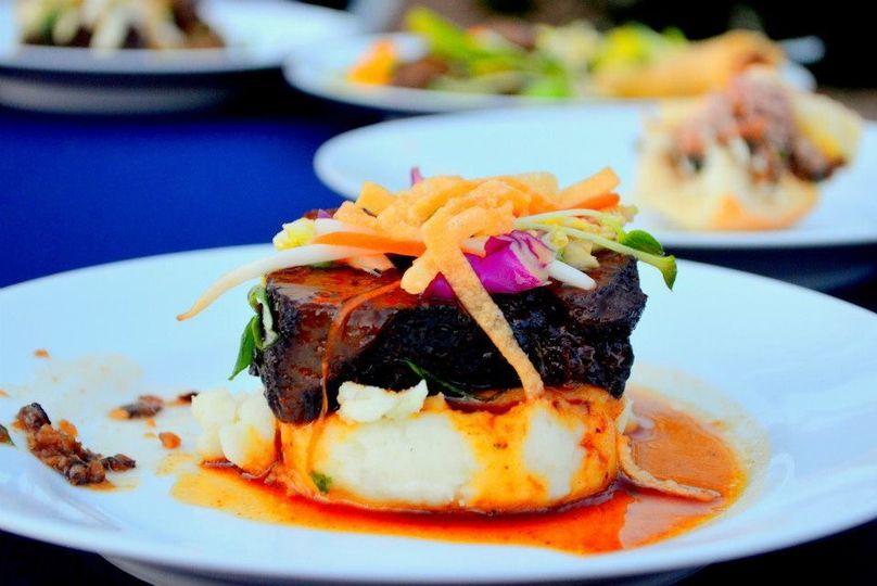 Beef and Wasabi Potato