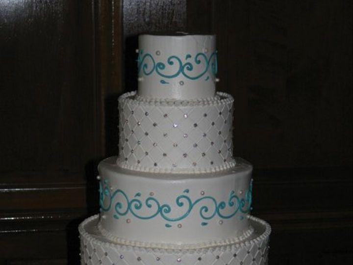 Tmx 1253200522015 5tiertiffanyblue Duncanville wedding cake