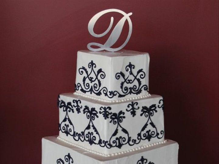 Tmx 1253200570796 Blackfancyscrolls Duncanville wedding cake