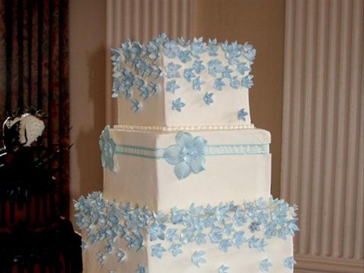 Tmx 1253200590375 Blueflowers Duncanville wedding cake